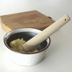 【かもしか道具店 すりコギ】すりこぎ 調理器具 朴 木製 ギフト■ ラッピング無料