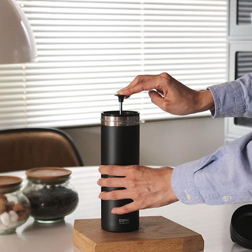 【ESPRO ウルトラライト トラベルプレス】エスプロ マグボトル コーヒーフィルター 水筒 プレス式 ギフト■ あす楽■ ラッピング無料