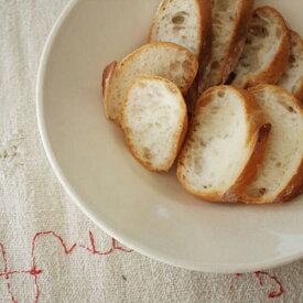【4th market pita ピタ ボウル 白】【食器 器 ホワイト 土物 萬古焼き ギフト】