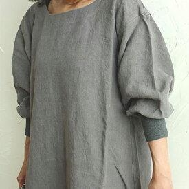 【kapoc japanese house working coat】カポック 割烹着 エプロン 日本 母の日 コート ナチュラル 麻 リネン■ 送料無料