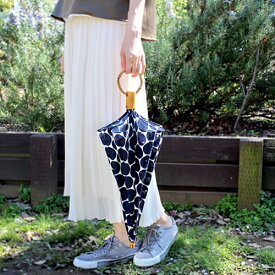 【SUR MER 透かし水玉 長傘 / 折りたたみ傘】シュールメール ファッション 傘 かさ カサ 紫外線防止加工 水玉■ 送料無料■ あす楽