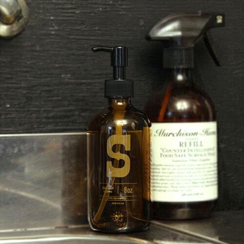 【ボストンラウンドディスペンサー Ed.2 SOAP】ボトル ハンドソープ ディスペンサー 茶瓶 薬瓶■ あす楽■ ラッピング無料