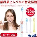 【50%ポイントバック】【あす楽 送料無料】 Areti アレティ 電動歯ブラシ 音波式 プロフェッショナル ビューティーケ…