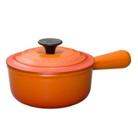 ルクルーゼ(ル・クルーゼ) ソースパン 2507 18cm オレンジ (LE CREUSET)