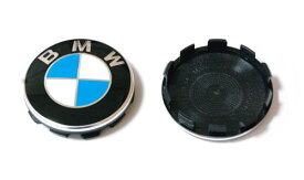 BMW純正部品(ドイツ直輸入) ホイールセンターキャップ クロームエッジ 4個セット 36136783536