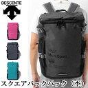 デサント スポーツバッグ スクエアバックパック 杢 DAC-8724 DESCENTE リュック