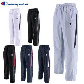 チャンピオン ロングパンツ メンズ ウインドブレーカー パンツ C3LSD21 Champion 裾ファスナー トレーニングウエア 裏起毛 ジャージ 蓄熱保温素材