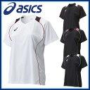 アシックス asics バレーボール ウェア シャツ・インナー XW6418 W'Sプラ シャツHS 半袖 シャツ 吸汗速乾 UVケア サイ…