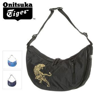 ☆ ☆ Onitsuka Tiger (ONITSUKA Tiger) shoulder bag Sasuke Tiger embroidery EOT439