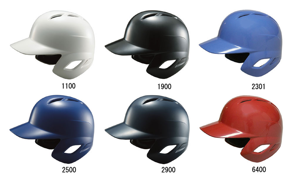 ZETTゼット 軟式野球用 ヘルメット 両耳 BHL370
