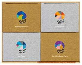 【グランカルビー】グランカルビー4箱入ギフトボックス しお味・バター味・焼きしお味・焦がし醤油味 ×各1箱