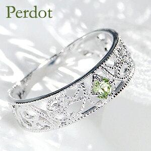 K10YG/PG/WG ペリドット& ダイヤモンド アンティーク リング指輪 ペリドット ダイアモンド ダイア 8月誕生石 パワーストーン カラーストーン お守り クラシカル アンティーク 送料無料 品質保