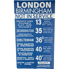 のれん 暖簾 間仕切り 洗える 85×150 ブルックリン バスステーション 地図 かわいい おしゃれ バスロール B