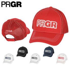 PRGR プロギア メンズ ハーフメッシュ キャップ PMCAP-103 ゴルフウェア [2019年春夏モデル] 【あす楽対応】 [有賀園ゴルフ]