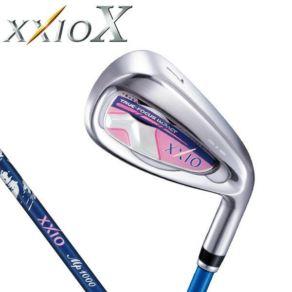 ダンロップ レディス XXIO X TEN ゼクシオ 10 テン アイアン (ブルー) 5本セット(#7〜9、PW、SW) MP1000L カーボンシャフト [2018年モデル] [有賀園ゴルフ]