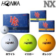 本間ゴルフNXボール1ダース