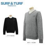 サーフ&ターフメンズ長袖セーター7FW-STF3
