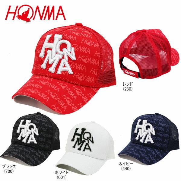 本間ゴルフ メンズ Dancing HONMA メッシュキャップ 731-419603 [2017年モデル] ゴルフウェア [73%OFF] 特価 【あす楽対応】 [有賀園ゴルフ]
