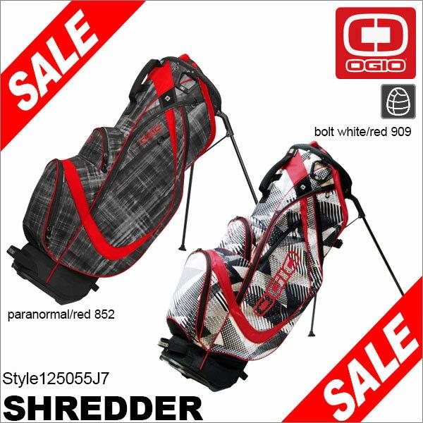 OGIO オジオ SHREDDER スタンド キャディバッグ 125055J7 [2017年モデル] 特価 【あす楽対応】 [有賀園ゴルフ]