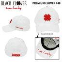 ブラッククローバー メンズ キャップ PREMIUM CLOVER #40 RED/WHITE/WHITE ゴルフウェア 【あす楽対応】 【ポイン…