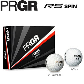 PRGR プロギア RS SPIN ゴルフボール 1ダース(12球入り) [2018年モデル] [有賀園ゴルフ]
