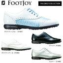 フットジョイ レディス Tailored Collection テーラードコレクション スパイクレス ゴルフシューズ [2018年モデル] …
