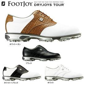 フットジョイ メンズ DRY JOYS TOUR ドライジョイズ ツアー ソフトスパイク ゴルフシューズ [2018年モデル] 特価 【あす楽対応】 [有賀園ゴルフ]