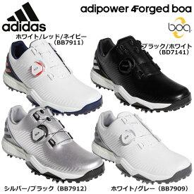 アディダス メンズ adipower 4ORGED Boa アディパワー フォージド ボア ソフトスパイク ゴルフシューズ 特価☆☆