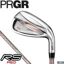 PRGR プロギア レディース RS RED レッド アイアン 5本セット(#7〜9、PW、SW) RS RED専用 Speeder EVOLUTION f…