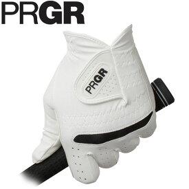 PRGR プロギア メンズ 全天候型 ゴルフグローブ PG-219 WB ホワイト×ブラック [2019年モデル] [有賀園ゴルフ]