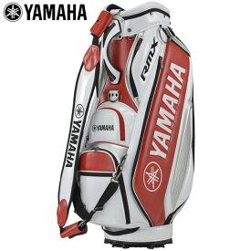 ヤマハ プロレプリカモデル キャディバッグ Y20CBP WRD ホワイト×レッド [2020年モデル] [有賀園ゴルフ]