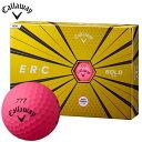 キャロウェイ ERC E・R・C ゴルフボール 1ダース (12球入り) ボールドピンク [2019年モデル] 【あす楽対応】 [有賀園ゴルフ]