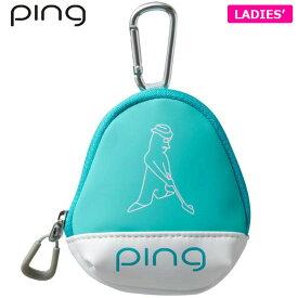PING ピン レディース ボールケース GB-L196 34868-02 MINT [有賀園ゴルフ]