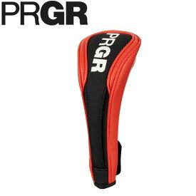 PRGR プロギア スポーツモデル ヘッドカバー ユーティリティ用 PRHC-203U B ブラック [2020年モデル] [有賀園ゴルフ]