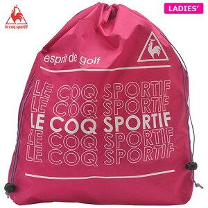 ルコック レディース 巾着型 シューズケース QQCPJA25 PK00 ピンク [2020年モデル] 【あす楽対応】 [有賀園ゴルフ]