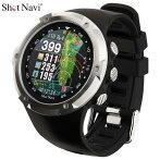 ショットナビ腕時計型GPSゴルフナビW1Evolveブラック