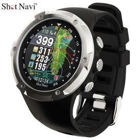 ショットナビ 腕時計型GPSゴルフナビ Shot Navi W1 Evolve エボルブ ブラック 【あす楽対応】 * [有賀園ゴルフ]