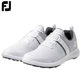 フットジョイ メンズ FJ FLEX フレックス スパイクレス ゴルフシューズ 56120 WT ホワイト [2020年モデル] 【あす楽対応】 [有賀園ゴルフ]