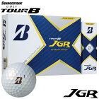 [送料無料] ブリヂストン TOUR B JGR ツアーB ジェイジーアール ゴルフボール 1ダース(12球入り) パールホワイト [2021年モデル] 【あす楽対応】 [有賀園ゴルフ]