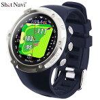 ショットナビ腕時計型GPSゴルフナビW1Evolveネイビー