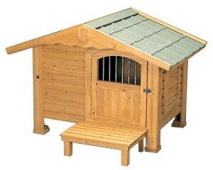【送料無料】【犬小屋 大型犬用】ロッジ犬舎 RK-1100【アイリスオーヤマ 大型犬用 犬舎 犬小屋 屋外 屋外ハウス 木製】