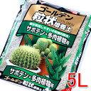 ゴールデン粒状培養土 サボテン・多肉植物用 5L GRB-SB5