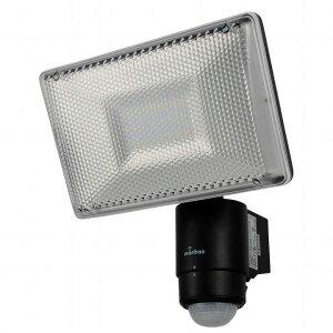 【送料無料】LEDセンサーライト AC13W ブラック LS-A1134B-K【OHM】【D】【オーム電機】センサーライト 屋外 led 門灯 玄関灯 防犯 ガレージ