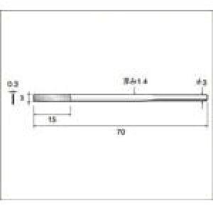 【ナカニシ】ナカニシ ダイヤモンドヤスリ 62303[ナカニシ 先端工具(一括品)作業用品電動工具・油圧工具マイクログラインダー]【TN】【TC】 P01Jul16
