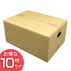 【10枚セット】ダンボール M-DB-100A アイリスオーヤマ【段ボール 梱包材 引越し 荷造り 荷物】