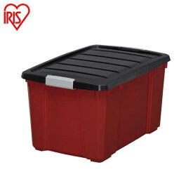 コンテナボックス バックルボックス NSK-450ダークグレー レッド送料無料 工具 収納 工具箱 工具ケース ツールボックス コンテナボックス プラスチック おもちゃ箱 おもちゃ収納 収納ボックス 小物 収納 アイリスオーヤマ アイリス