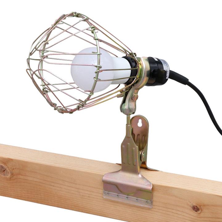 LEDクリップライト屋内用 60形相当 ILW-85GC2 アイリスオーヤマ 照明 業務用 オフィス 工場 現場 作業用 ライト クリップライト ワークライト 明るい クリップタイプ 工事現場用ライト シンプルled クリップライト おしゃれ 災害 防災 非常時 非常灯
