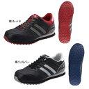 【送料無料】プロテクティブスニーカー NS NS811安全靴 作業靴 ワーキングシューズ 靴 シモン レッド24.0〜29.0cm【D】