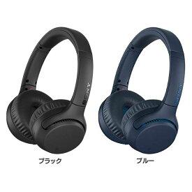 SONY ブルートゥース対応ヘッドホン オーバータイプ 重低音 WH-XB700送料無料 Bluetooth バッテリー 充電式 スマホ スマートフォン 音楽 オーディオ 高音質 ソニー SONY ブラック ブルー【D】【B】