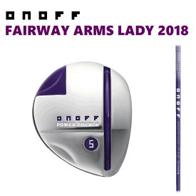 ■SALE■オノフ フェアウェイ アームズ レディ ONOFF FAIRWAY ARMS LADY SMOOTH KICK MP-418F